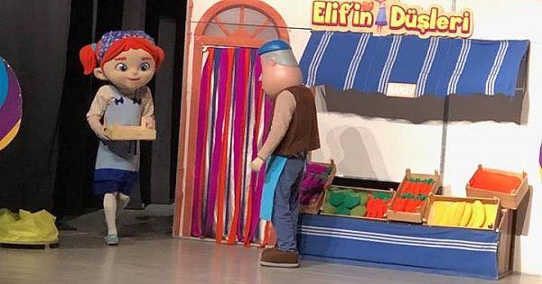 Hınıslı Çocuklar Tiyatroya Doydu