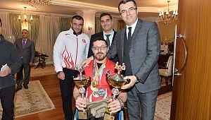 Erzurum'un İlk Engelli Araştırma Raporu Vali Memiş'e sunuldu