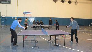Hınıs'ta Masa Tenisi Turnuvası