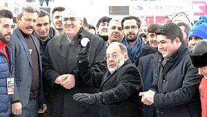 Recep Akdağ, Kızak Kaydı, Kartopu Oynayıp, Halat Çekti