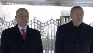 Son dakika... Irak Cumhurbaşkanı Salih Ankara'da