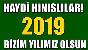 2019 Yılı