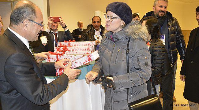 Büyükelçiler Gala Yemeğinde organizasyonu değerlendirdi