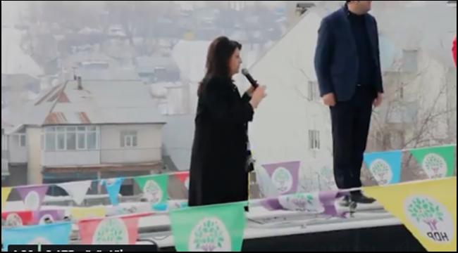 HDP Eş Genel Başkanı Pervin BULDAN Hınıs'taydı..