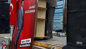 İlk Miting Ahmet GÜZELBABA'dan..