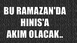 Bu Ramazan'da Hınıs'a Akım Olacak..
