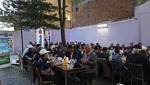 HINIS'lı üreticiler geleneksel DenizBank  Hınıs Şubesi iftarında bir araya geldi