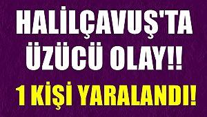 Halilçavuş'ta Üzücü Olay!