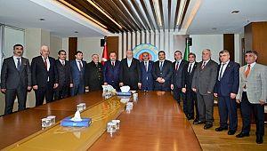 Abdulsamet Demir Sorunları Ankara'da Dile Getirdi