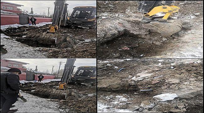 ESKİ, Hınıs'ta Kar Kış Dinlemiyor