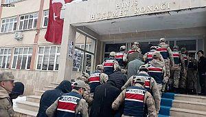 Hınıs ve Karaçoban'da Hırsızlık Şüphelilerine Tutuklama!