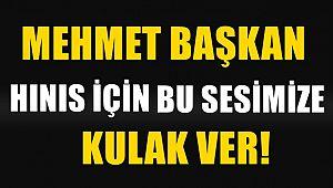Mehmet SEKMEN Başkan Bu Sesimize Kulak Ver!!