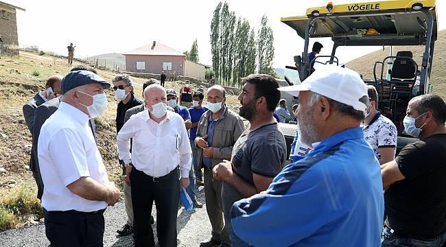 Büyükşehir Hınıs'ta Grup Yollarına El Attı