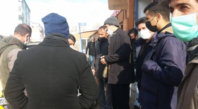 Deva Partisi Hınıs İlçe Teşkilatı Esnaf Ziyareti Yaptı