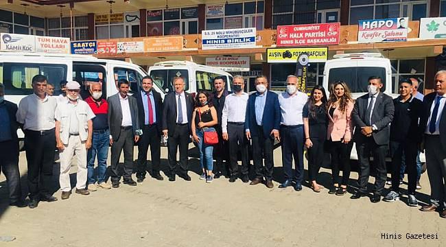 CHP Hınıs'a Çıkarma Yaptı