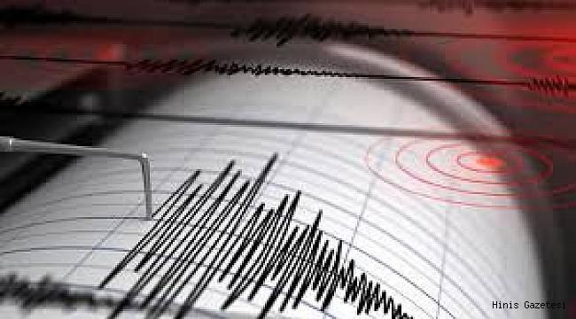 Hınıs'ta Deprem