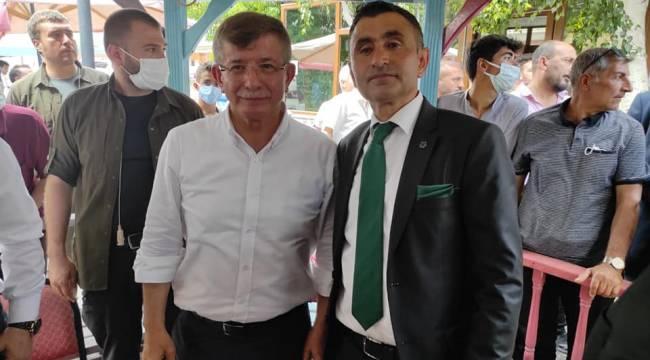Prof.Dr.Ahmet DAVUTOĞLU Hınıs'ı Ziyaret Etti.
