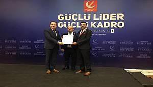 Yeniden Refah Partisi Hınıs İlçe Başkanı İbrahim KALAY oldu