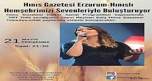 TRT Sanatçımız Reyhan Ediş Hınıs Gazetesi'nin Canlı Yayın Konuğu Oldu