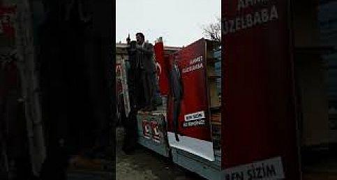 Ahmet GÜZELBABA'nın Miting Konuşması